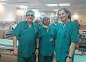 סיור בחדרי הניתוח